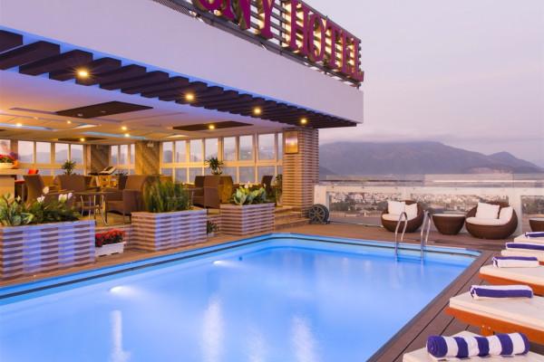 Free & Easy nghỉ dưỡng ở Nha Trang tại Balcony Hotel 3 sao 3 Ngày 2 Đêm
