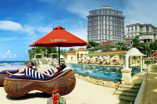 Free & Easy - Imperial Hotel 5 Sao Vũng Tàu 2N1Đ  - Khởi Hành Từ TP. HCM.