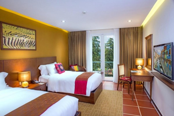 Free & Esasy nghỉ dưỡng tại Sapa ở BB Hotel 4 sao 2 ngày 1 đêm - khởi hành từ Hà Nội