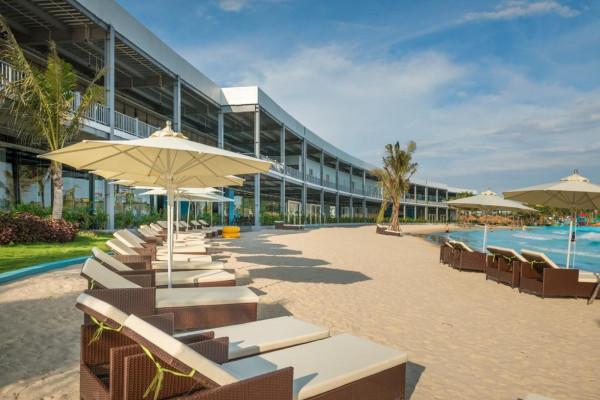 Combo Baara Land 2N1Đ quần thể vui chơi giải trí, bãi biển nhân tạo, show cá heo