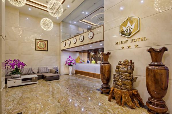 Combo kỳ nghỉ Đà Nẵng tại Merry Hotel 3 sao 3 ngày 2 đêm