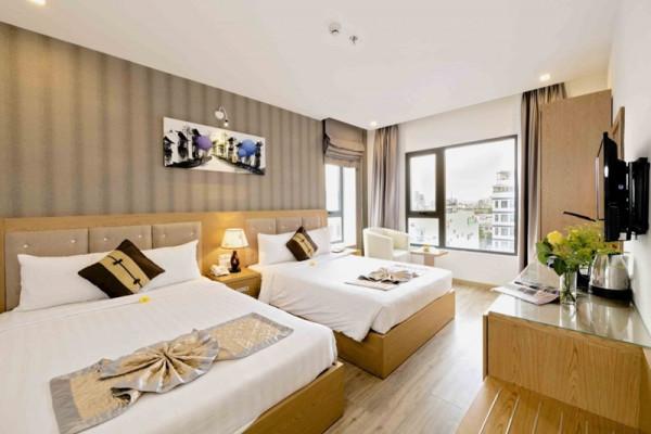 Combo kỳ nghỉ Đà Nẵng tại Grand Sunrise 2 Hotel 3 sao 3 ngày 2 đêm