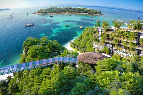 Free & Easy Kỳ nghỉ 5 sao tại Flamingo Cát Bà Resort 2 ngày 1 đêm