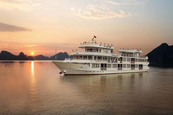 Combo kỳ nghỉ Vịnh Hạ Long tại Du thuyền Athena Cruises 5 sao 2 ngày 1 đêm