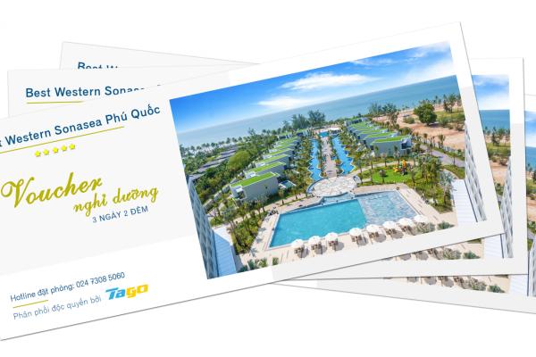 Voucher Best Western Premier Sonasea Phú Quốc nghỉ dưỡng cao cấp 3 ngày 2 đêm tiết kiệm tới 40%