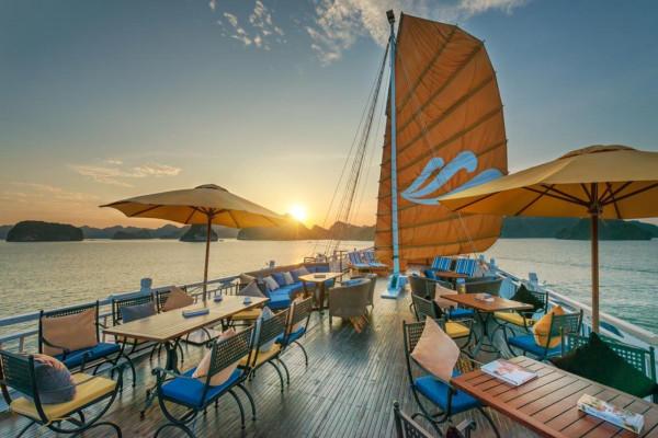 TOP 3 du thuyền Hạ Long 5 sao được khách du lịch lựa chọn nhiều nhất