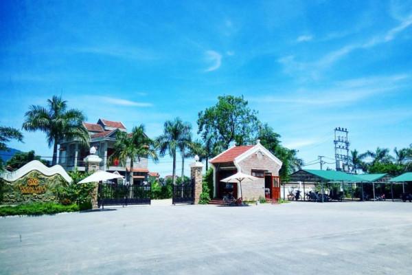 Tận hưởng không khí trong lành tại Vườn Vua Resort Phú Thọ