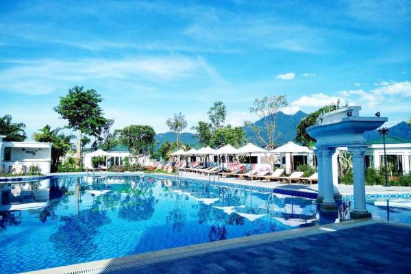 Dành 2 ngày cuối tuần tại Vườn Vua Resort Phú Thọ chỉ với 1,399,000 đồng