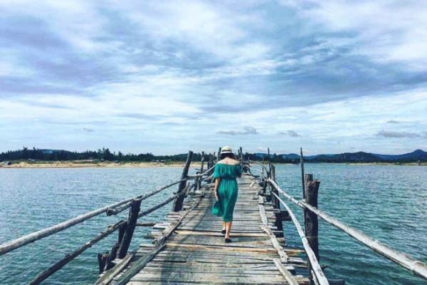Ghé Phú Yên check-in cầu gỗ Ông Cọp – cây cầu gỗ dài nhất Việt Nam