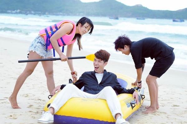 Say đắm vẻ thơ mộng, bình yên của bãi biển Vịnh Hòa ở Phú Yên