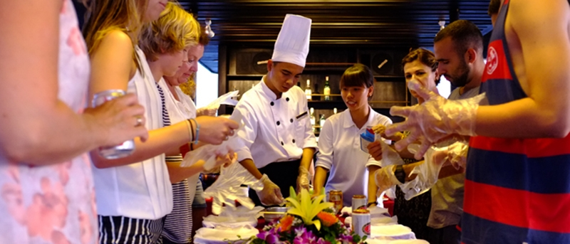 cooking-class on Alisa Cruise